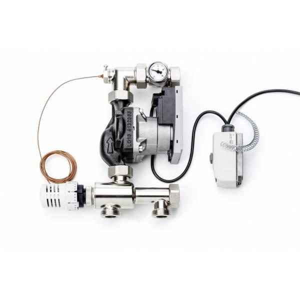 """Комплект температурного регулирования 1"""" Flex для подключения теплого пола от радиаторного отопления"""
