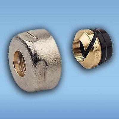 Резьбозажимное соединение, ELSEN, НГ ЕК, 3/4″, 15, латунь, для медной трубы